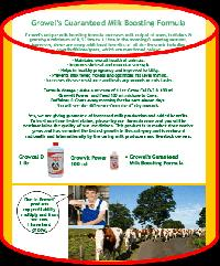 Cattle Milk Booster
