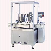 Automatic Filling, Plugging And Capping Machine