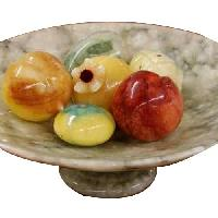 Marble Fruit Bowls