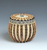 Fancy Beaded Baskets