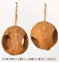 Coconut Shell Bird Houses