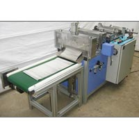 Aluminium Foil Corrugation And Cutting Machine