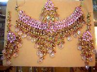 Bridal Necklace Set-BNS-02