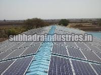 Solar Mounting Structure Fabrication and Installment