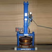 Hydropneumatic Paper Plate Machine