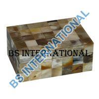 Horn Jewelery Box