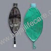 Rebreathing Bag Black/green