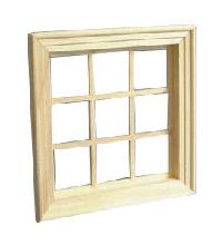 wooden window frame