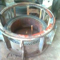 Service Re-Staggering of motor-alternator stamping