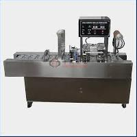 Two Head Cup Sealing Machine