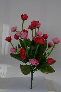 Artificial Rose Flower Bunch