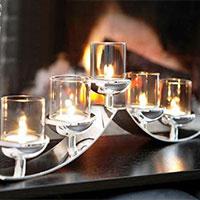Aluminium Candle Holders
