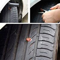 Tubeless Tyre Repairing