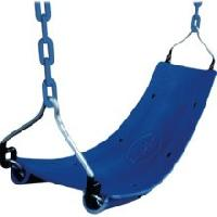 Blue Belted Safety Seat