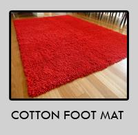 Cotton Foot Mat