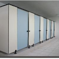 Compact Board Based Toilet Partition