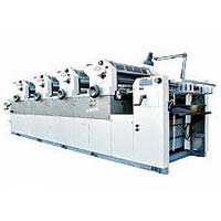 Four Colors Non Woven Fabric Printing Machine