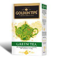 Golden Tips Green Tea 20 Full Leaf  Pyramid Tea Bags