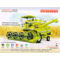 Agriculture Harvester Machine Dasmesh9100