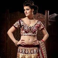 Royal Golden Wedding Sarees, Maroon Wedding Sarees