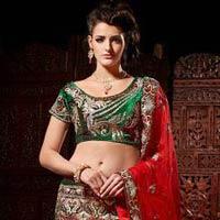 Royal Red Wedding Sarees, Green Wedding Sarees