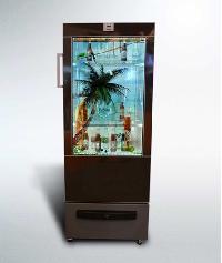Transparent Lcd Beverage Cooler Door By V-studio