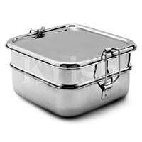 Bento Square Lunch Box - TWIN