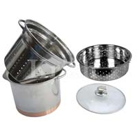 Copper Bottom Pasta Cooker Set