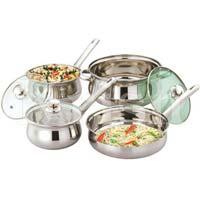 Rajwadi Cookware Set with Bakelite Handle