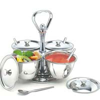 Relish Revolable Pickle Stand