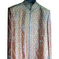 mens embroidered sherwani