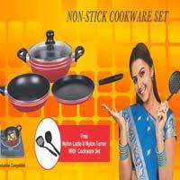 4 Pieces Non Stick Cookware