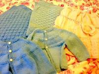 Homemade Vardhman Yarn Knitted Sweaters