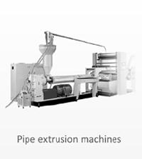 Pipe Extrusion Machines