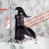 Black Oil Rubbed Finish Faucet