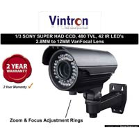 Ir Focus Cctv Camera - Wholesale Suppliers,  Gujarat - Krishna Computer & Security Systems