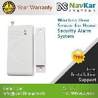 Wireless Door Sensor For Home Security Alarm System
