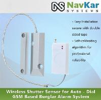 Wireless Shutter Sensor For Auto - Dial Gsm Based Burglar..