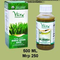 Organic Aloe Vera Wheat Grass