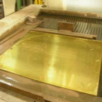 Brass Waterjet Profile Cutting Services