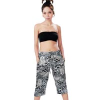 Satin blend Scarf Beach Wear Trouser