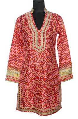 Vintage Sari Ladies Kurta(code :- Pz-09a)