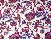 Crewel Embroidered Fabric- CF - 05