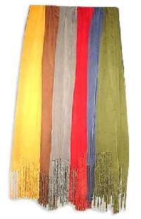 silk cashmere stole -SCS - 04