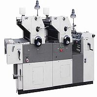 Two Color Non Woven Bag Printing Machine (D-Cut)