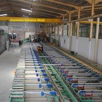 Aluminium Extrusion Plant Installation