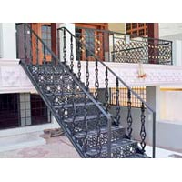 Iron Staircase Fabrication