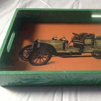 Serving Tray Car Print