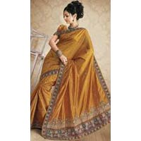 Hand Work Silk Saree