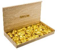 Dark Ivory Almond Rocks - Large Chocolate